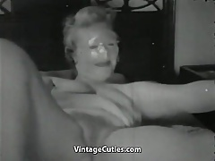 Madam Masturbates and Craves Sex 1940s Vintage