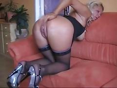 Amateur Mature Blonde Anal Sex