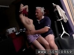 Horny senior bruce catches sight of a lovely dame sitti