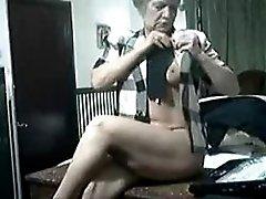 Hottie granny on web