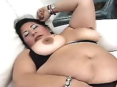 Big Titted Big Gutted Latina Mature Fucked