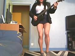 Sexy air guitare