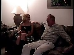 Small Tits Teen Banged By The Grandpa & Another Guy