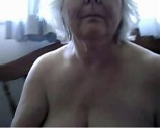 Blonde grannie punishment turns into sex