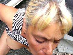 Posh mature mother fucks like a slut in hotel