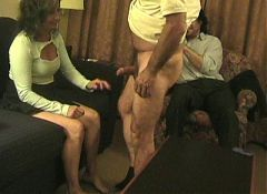 Amateur mature bbw taking on young stud bbc
