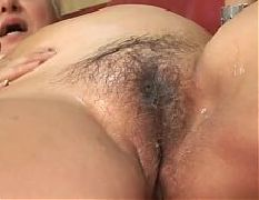 Pregnant hairy slut vs cock